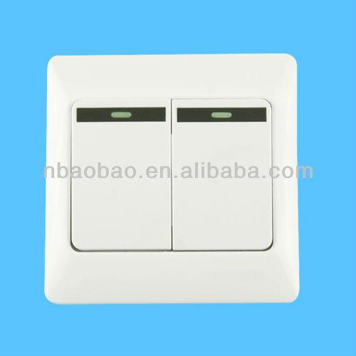 unterputz licht schalter mit kontrollleuchte wandeschalter produkt id 864380867. Black Bedroom Furniture Sets. Home Design Ideas