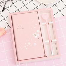 Креативный милый розовый блокнот с Фламинго С орнаменты для ручек настольные поделки студенческие подарки для детей аксессуары для домашн...(Китай)