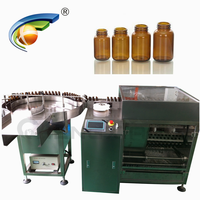 New condition and electric driven type ultrasonic cleaner machine for vial glass bottle