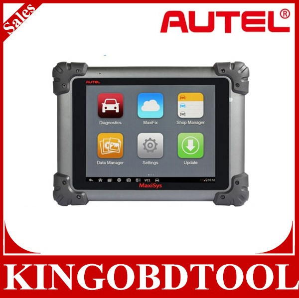 Super qualità 100% originale autel maxisys ms908 smart strumento diagnostico automobilistico e sistema di analisi con led display touch