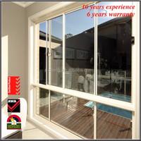 Storm Windows Thermal Break Window Tempered Glazing Vinyl Replacement Windows China AS2047 High Quanlity UPVC Vinyl Windows