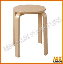 bar stool high chair wooden stool birch stool
