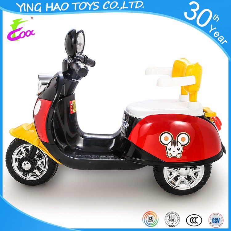 newest kids battery operated ride on motorcycle children ride on style bike toys