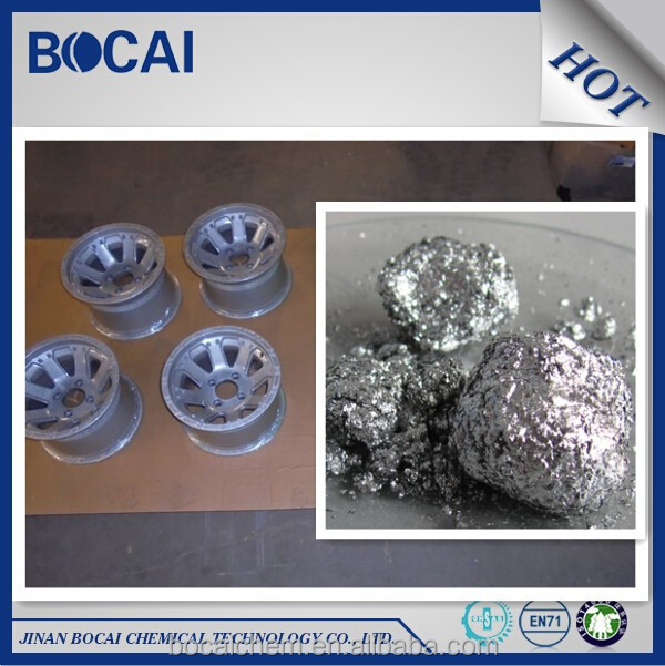 Metal non-floating aluminium paste for finishes and paint application