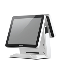 "Elanda15"" touch screen windows dual core verifone pos terminal"