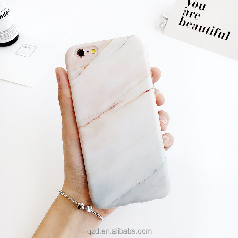 For Apple For Iphone 7 7plus Hot Sale Nude Coral Marble Pattern ...