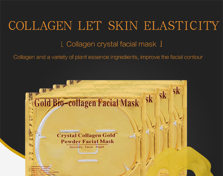 Gold Bio-Collagen Crystal Gold Powder Collagen Facial Mask