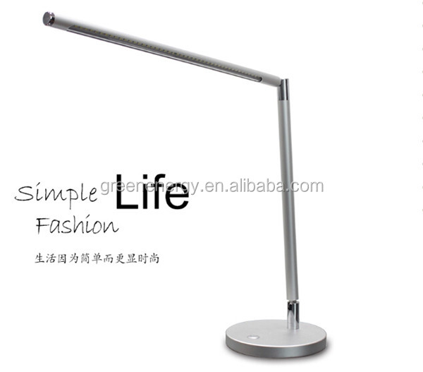 Natural Light 7w Led Desk Lamp Reading Modern Folding Nail Table