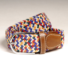 btb122837 Good Quality Kid Stock Stretch Belts with Alloy Buckle
