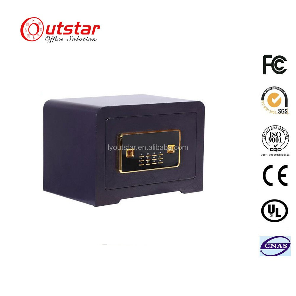 Stylish and Secure Smart Safe Box Electronic Digital Hotel / Home steel money cash and Jewallery safe deposit box