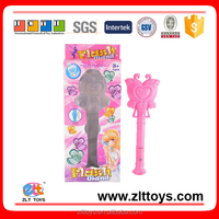 Promotional toys plastic pricess magic stick with light