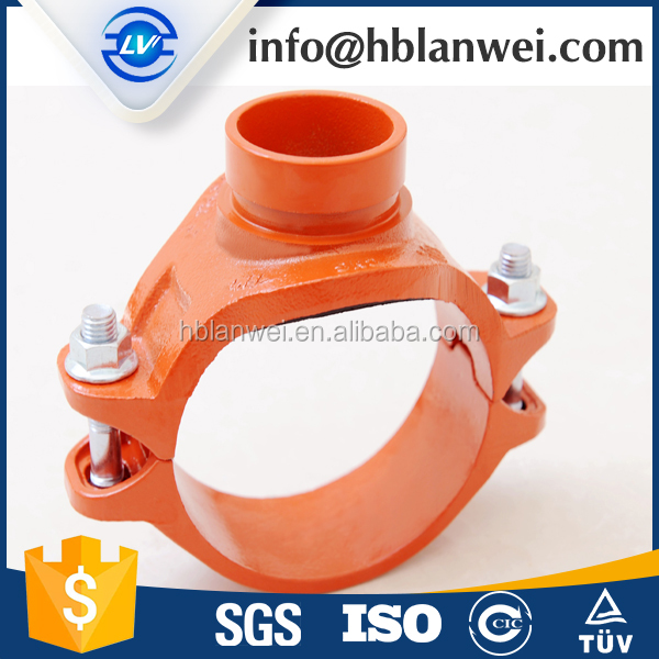 FM/UL Ductile Iron Grooved Lock Coupling and Fittings