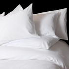 Wholesale top class 1000TC bleached white cotton hotel use bedding fabric