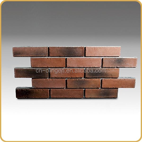 Brique de parement comme panneau de mur pour mur int rieur for Mur de brique exterieur