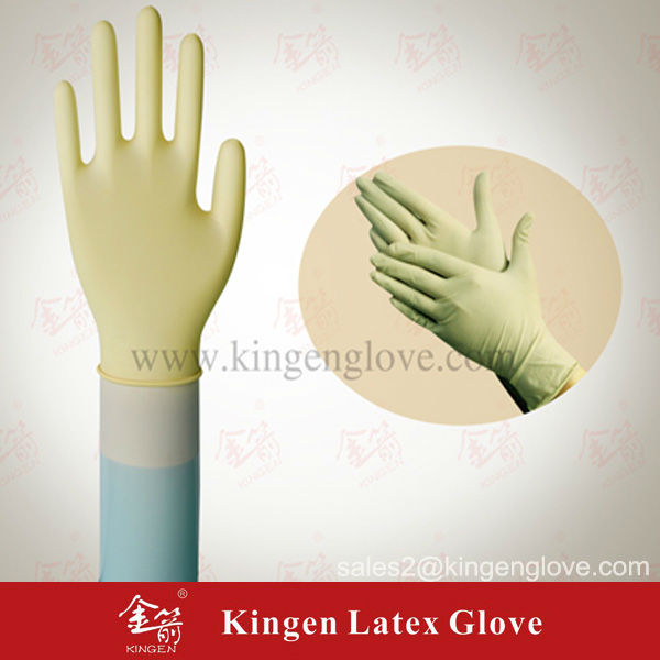 latex gloves with design
