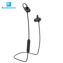 V4.1 High quality V4.1 CSR wireless sport magnetic metal bluetooth in ear headset microphone headset with mic RM8