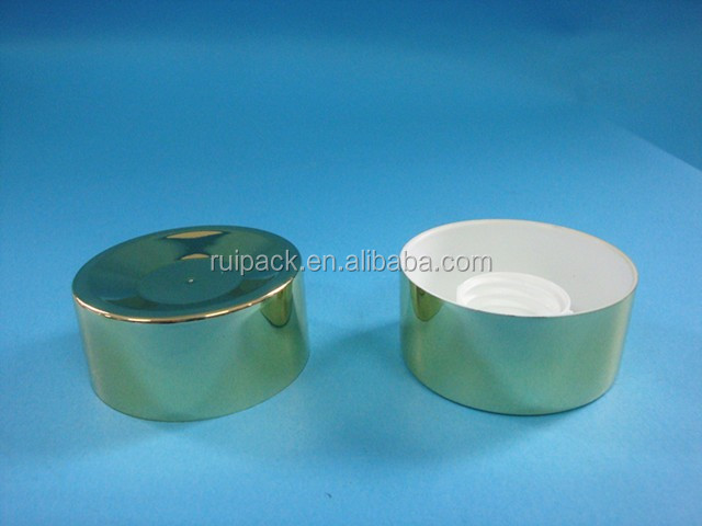50mm normal screw gold cap, 50mm gold tube cap, 50mm gold screw cap for plastic tube