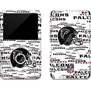 NFL Atlanta Falcons iPod Classic (6th Gen) 80 & 160GB Skin - Atlanta Falcons - Blast Vinyl Decal Skin For Your iPod Classic (6th Gen) 80 & 160GB