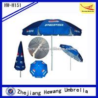 beach umbrella anchor drill custom print umbrella