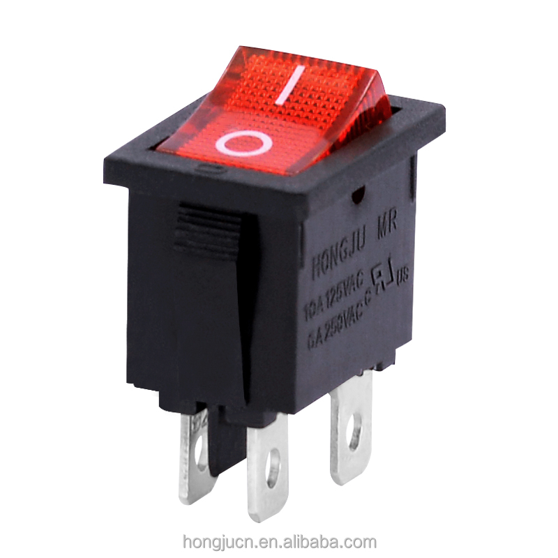 HONGJU 21 15 10A 125V 6A 250V rocker switch 125v 10a 250v, rocker switch 125v 10a 250v suppliers  at metegol.co