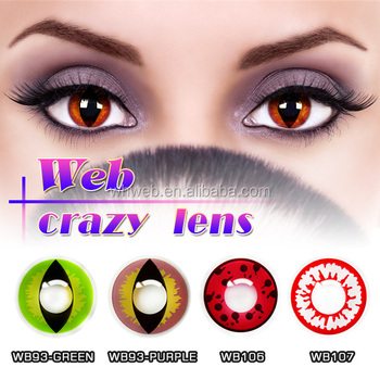 China Manufacturer Big Eye Crazy Anime Contact Lens