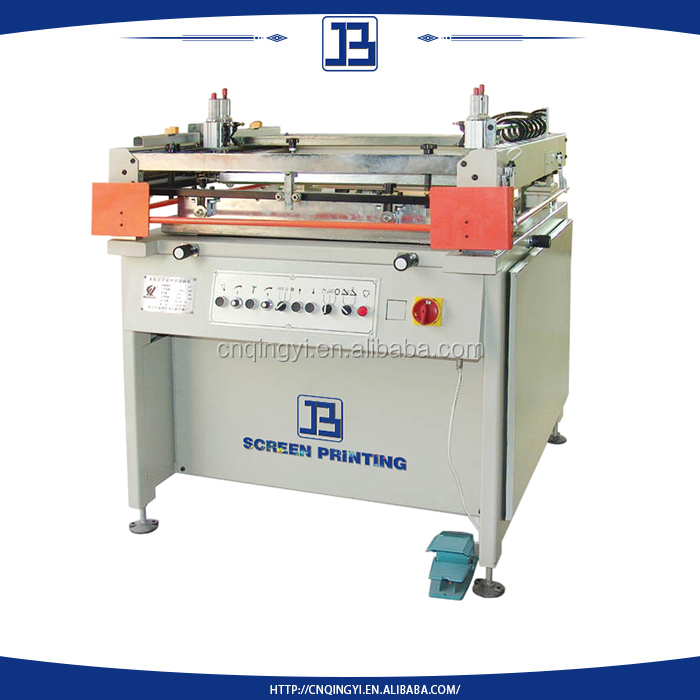 silk screen printing good performance machine with total solution