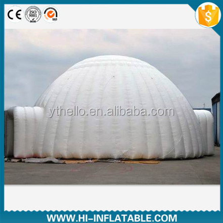 Custom made white inflatable wedding / event / party / christmas inflatable igloo tent No. dtn003 for sale