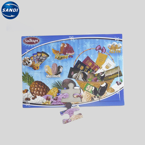 Full color printed custom jigsaw puzzle