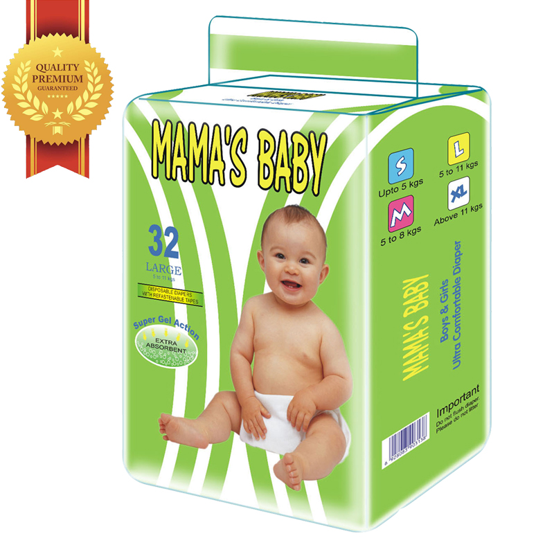 New Design Best Price 100% Full Test Regular Disposable Baby Diapers in Bulk Pack