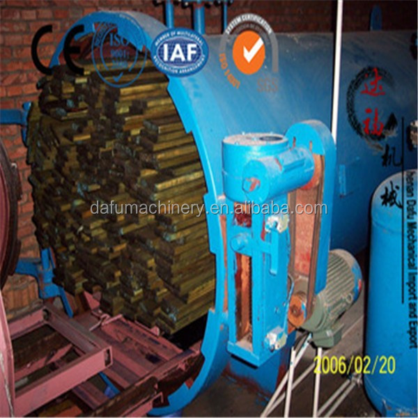 Vacuum wood impregnation machine for sale