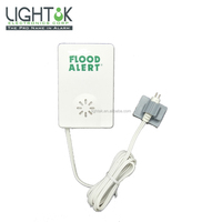 Flood alert water level alarm low battery for Basement and Lanudry room LD-66BR