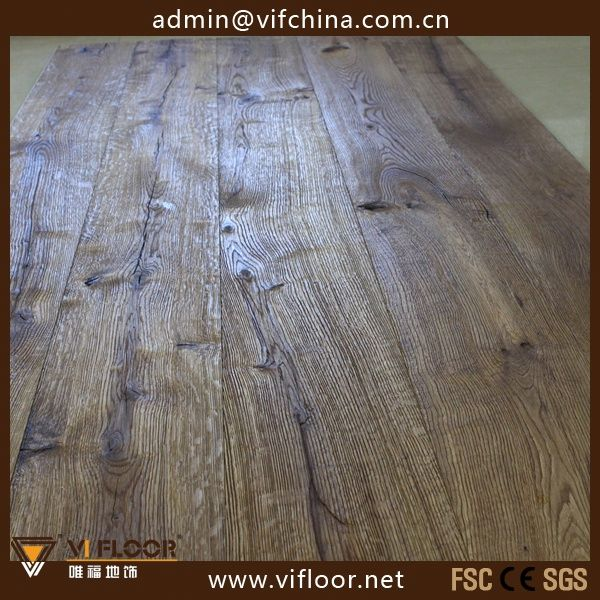 Oiled/Fumed/Carbonized Engineered Oak Wood Flooring