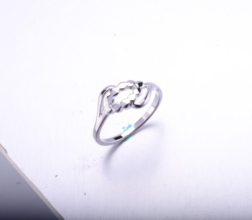 R0431 Jewellery Accessories For Woman Simple Silver Wedding Rings ...