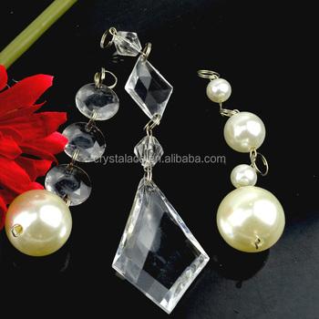 Fashion Acrylic Crystal Beads Teardrop Chandelier Crystal Buy - Chandelier crystals bulk