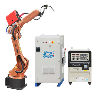Industrial CNC Welding Robot /Robotic Arm 6 Axis With Servo Motor
