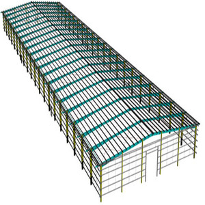 industrial portal frame steel structure