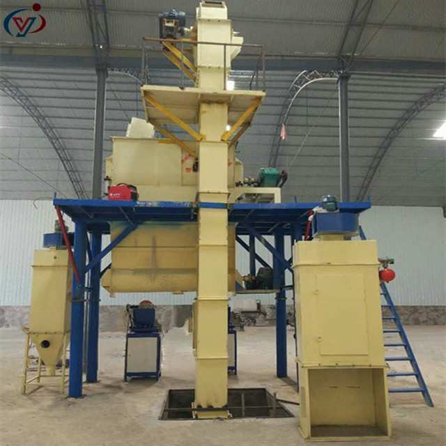 Tile bonding pre-mix mortar mixer machine complete production line