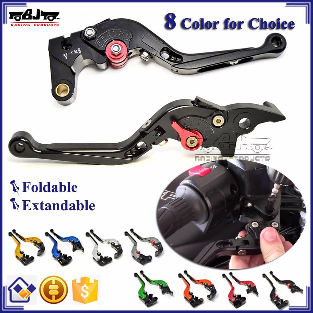 BJ-LS-001-F99-H11 Adjustable Foldable CNC Motorcycle Brake Clutch Lever For Ducati 1199 Panigale S Tricolor