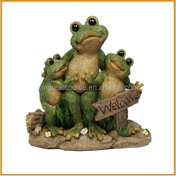 Cute Polyresin Frog Resin Frog Statue For Garden Decorative Buy