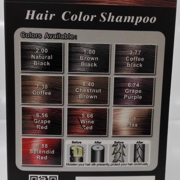 Dexe Hair Color Shampoo Color Hair Like Normally Washing Hair/family ...