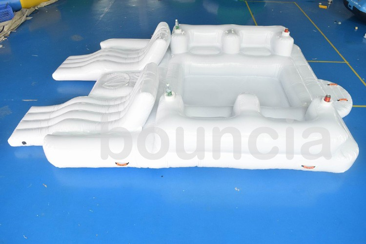 6 Person Inflatable Water Floating Island For Adults Entertainment