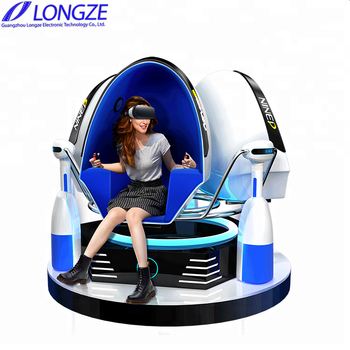 Amusement Park Roller Coaster 9D VR Game Machine 9D Virtual Reality 9D Egg Chair 9D VR Cinema 9D Cinema Simulator VR Simulator
