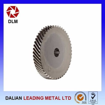 professional customized straight bevel gear wheel crown gear design
