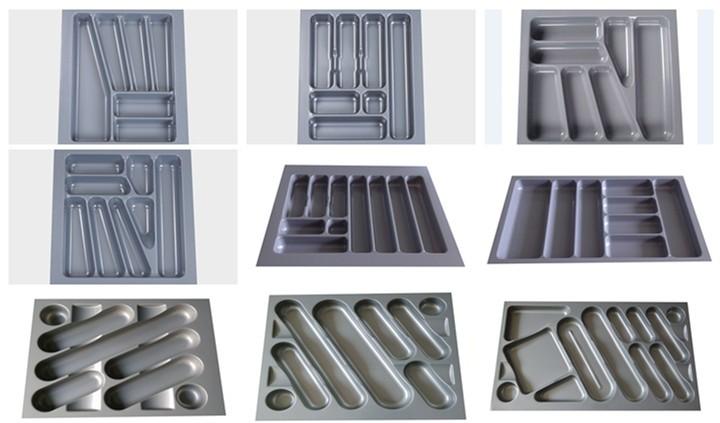 ABS di Plastica posate vassoio per 300 millimetri cabinet, Utility Vassoi