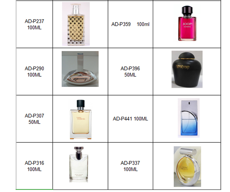 Hot-selling designer female body spray perfume with various fragrances