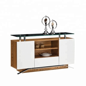 Kitchen Buffet China Cabinet Sideboard Hutch Dining Storage Modern NEW N-6337