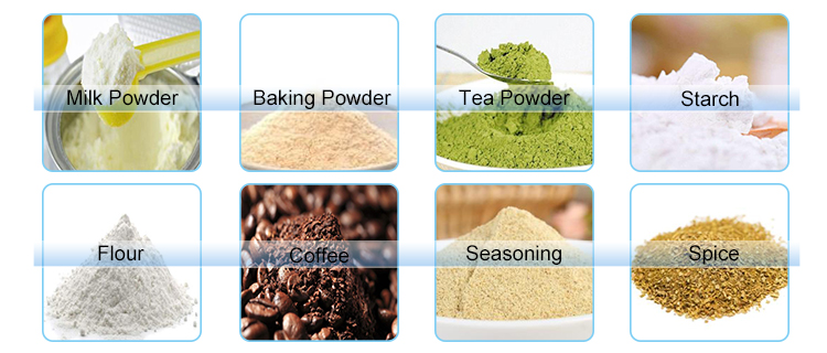 50g 100g Automatic Garlic Powder/cumin powder/Clove powder packing machine price