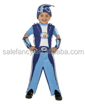 Halloween Kostuum.Lazytown Sportacus Kids Halloween Costume Kids Fancy Dress