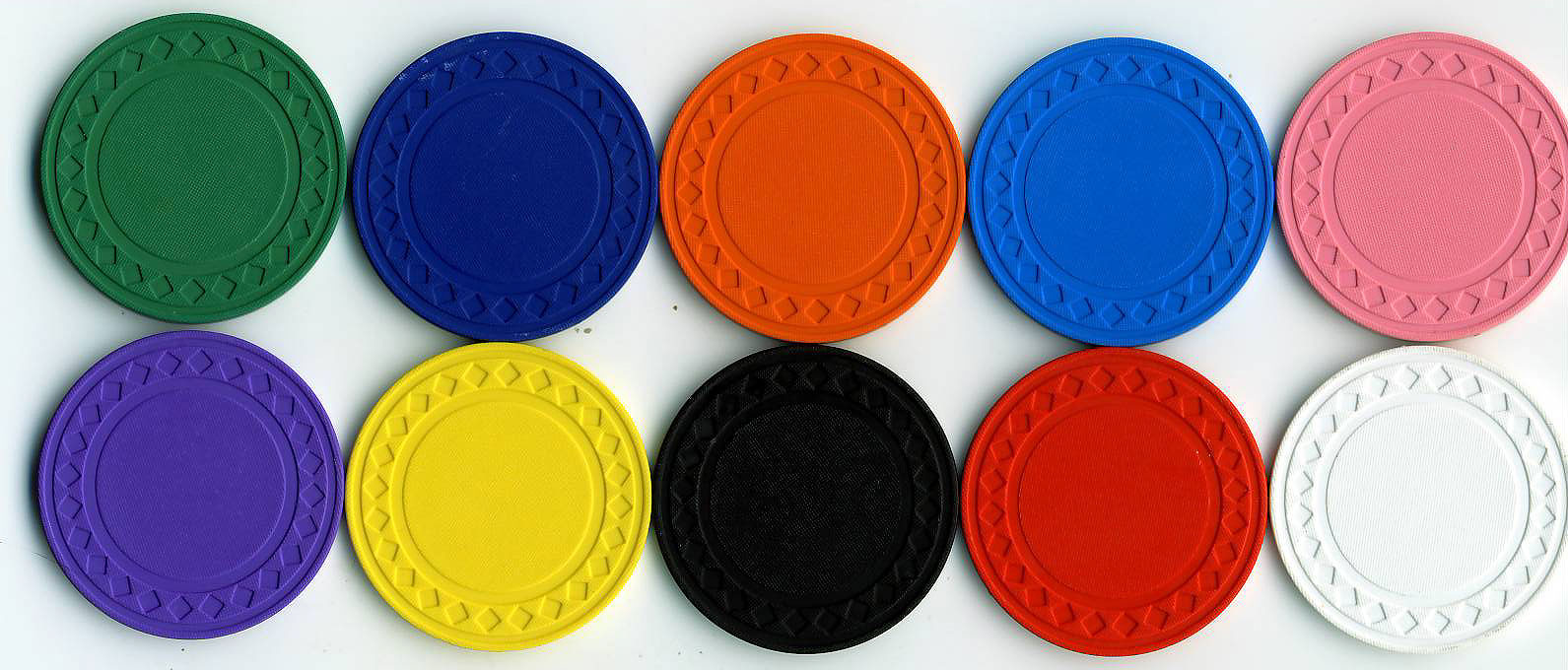 Solid color poker chips casino de paris dunes hotel las vegas