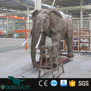 OAH5043 Outdoor Animatronic Animal Elephant Statue For Sale